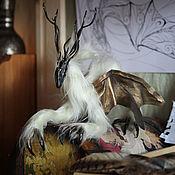 Куклы и игрушки ручной работы. Ярмарка Мастеров - ручная работа Дракон Севера - Голубика. Handmade.