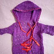 Одежда ручной работы. Ярмарка Мастеров - ручная работа Летний комплект для новорожденной. Handmade.