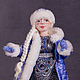 Коллекционные куклы ручной работы. Снегурочка. Жанна Бугрова. Ярмарка Мастеров. Снегурочка из шерсти, коллекционная кукла, тесьма декоративная