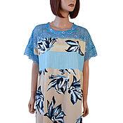 Одежда handmade. Livemaster - original item Elegant summer dress staple lace