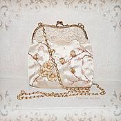 handmade. Livemaster - original item Handbag with clasp: For special occasions, for graduation, nea. Handmade.