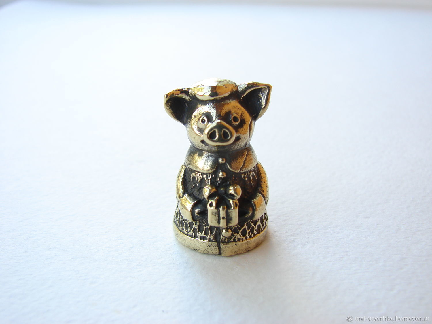 Bell 'Pig with a gift' small, Kolokolchiki, Ekaterinburg,  Фото №1