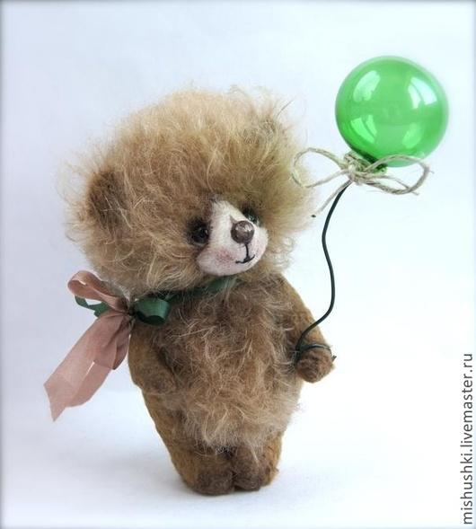Мишки Тедди ручной работы. Ярмарка Мастеров - ручная работа. Купить Пух. Handmade. Бежевый, тедди, оригинальный подарок