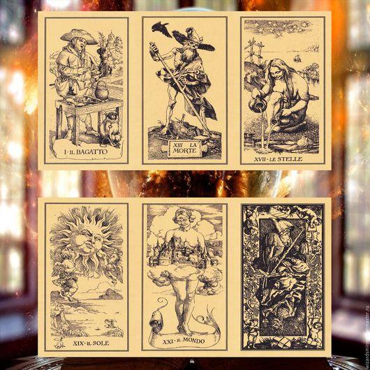 Эзотерические аксессуары ручной работы. Ярмарка Мастеров - ручная работа. Купить Таро Дюрера — The Tarot of Durer. Handmade.