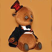Куклы и игрушки ручной работы. Ярмарка Мастеров - ручная работа Мишка тедди Мьсье Конферансье. Handmade.