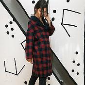 Одежда handmade. Livemaster - original item Coat double wool plaid. Handmade.