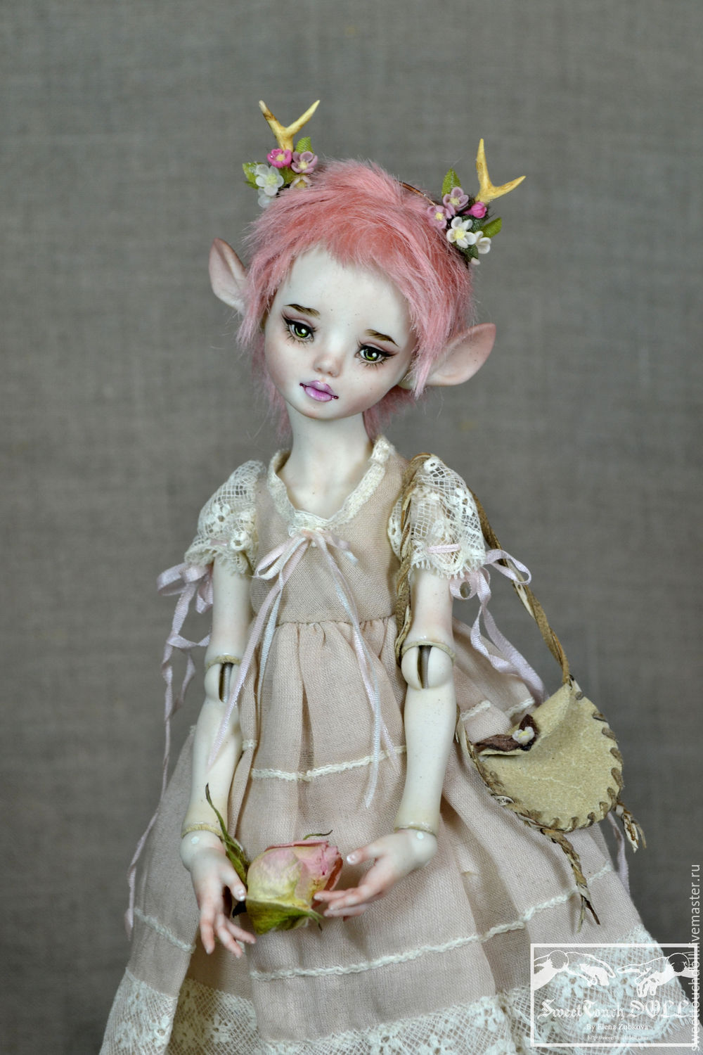 BJD… I Must be CRAZY | Polymer clay dolls, Clay dolls ... |How To Make A Ball Jointed Doll
