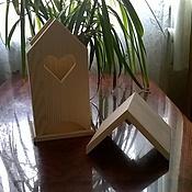 Материалы для творчества ручной работы. Ярмарка Мастеров - ручная работа Чайный домик из дерева. Handmade.