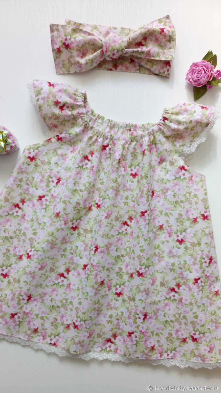 """Платья из натуральных тканей Мой цветочек"""""""