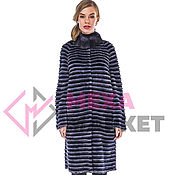 Одежда handmade. Livemaster - original item Fur mink coat