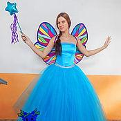Одежда handmade. Livemaster - original item Blue fairy. Animator-actor suit. Handmade.