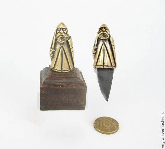 """Статуэтки ручной работы. Ярмарка Мастеров - ручная работа. Купить нож статуэтка """"Варяг"""". Handmade. Нож, Нож ручной работы"""