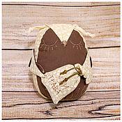 Куклы и игрушки ручной работы. Ярмарка Мастеров - ручная работа Ароматная сова засыпайка. Handmade.