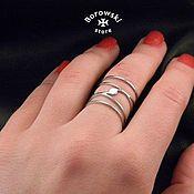 Rings handmade. Livemaster - original item Ring in the style boho. Handmade.