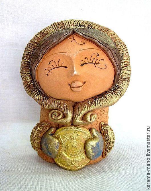 Народные куклы ручной работы. Ярмарка Мастеров - ручная работа. Купить Девочка с Севера. Handmade. Север, подарок девушке
