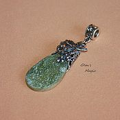 Украшения handmade. Livemaster - original item A pendant of idocrase