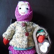 """Куклы и игрушки ручной работы. Ярмарка Мастеров - ручная работа Вязаная кукла """"Падчерица"""". Handmade."""