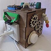 Куклы и игрушки handmade. Livemaster - original item Educational cube
