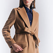 Одежда handmade. Livemaster - original item Camel coat. Handmade.