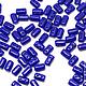 Для украшений ручной работы. Ярмарка Мастеров - ручная работа. Купить Чешские бусины Rulla, Синие, Рулла Чехия, 5гр. Handmade.