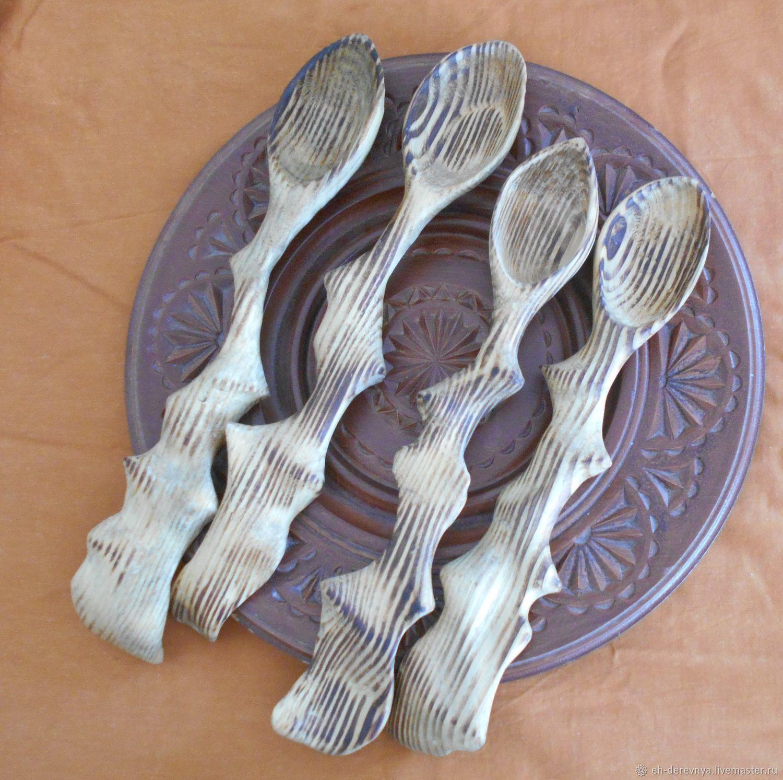 Ложки ручной работы. Ярмарка Мастеров - ручная работа. Купить Большие деревянные ложки. Handmade. Ложка, ложки, ложка деревянная