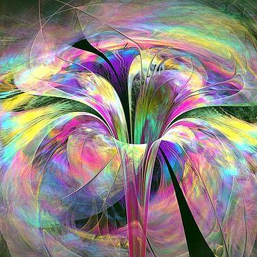 Картины и панно ручной работы. Ярмарка Мастеров - ручная работа Картина Волшебный Цветок. Handmade.