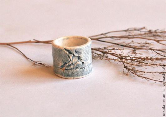 кольцо, керамическое кольцо, керамика ручной работы, керамические украшения,