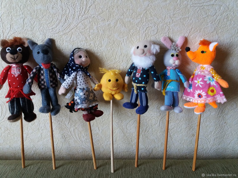 Куклы для театра на палочке, Кукольный театр, Камышин,  Фото №1