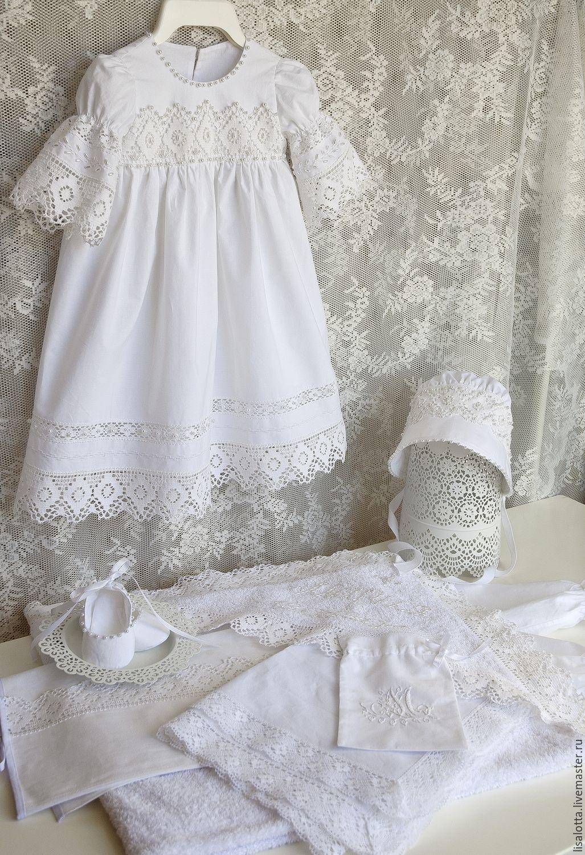Платья для крещения для новорожденных девочек своими руками фото 179