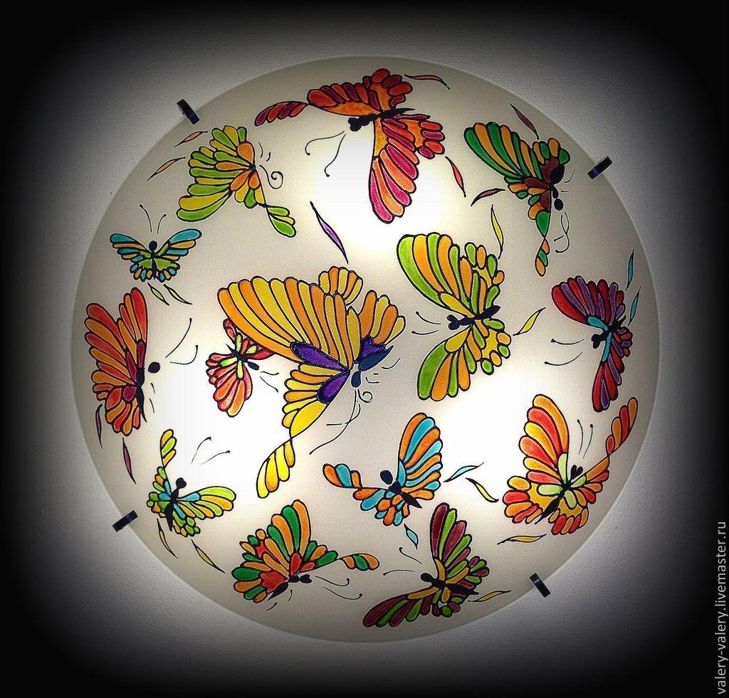 "Люстра ""Бабочки"" №2, Люстры, Москва, Фото №1"