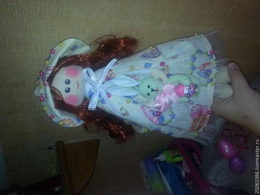 Куклы тыквоголовки ручной работы. Ярмарка Мастеров - ручная работа. Купить текстильная кукла. Handmade. Разноцветный, текстильная кукла, бязь