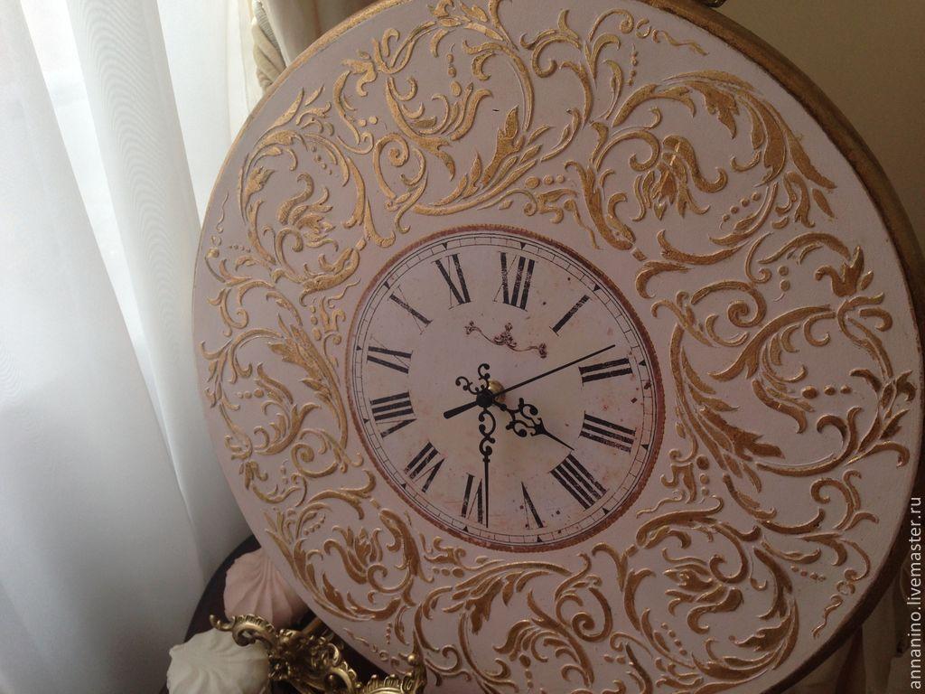 e76c008d4ad7 Ярмарка Мастеров - ручная работа. Купить Настенные часы Вальс Часы для дома  ручной работы. Настенные часы Вальс в розовом Рококо. Творческая мастерская    ...