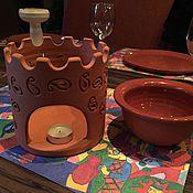 Посуда ручной работы. Ярмарка Мастеров - ручная работа Шоколадное фондю. Handmade.