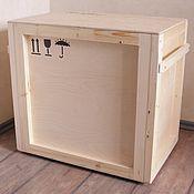 Для дома и интерьера ручной работы. Ярмарка Мастеров - ручная работа Ящик транспортный деревянный. Handmade.