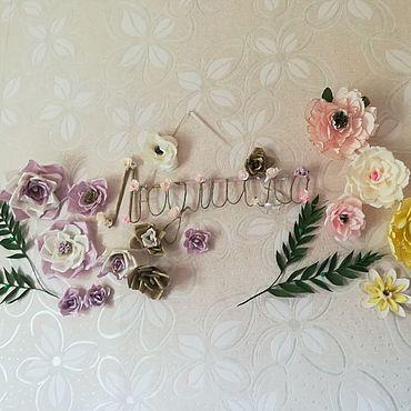 Дизайн и реклама ручной работы. Ярмарка Мастеров - ручная работа Декор на юбилей бабушке. Handmade.