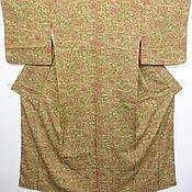 Винтажная одежда ручной работы. Ярмарка Мастеров - ручная работа ШОК-ЦЕНАВинтажное кимоно из натурального шелка. Handmade.