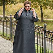 Одежда ручной работы. Ярмарка Мастеров - ручная работа Платье из джинсы. Handmade.