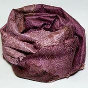 Аксессуары handmade. Livemaster - original item scarf felted SIP of wine. Handmade.