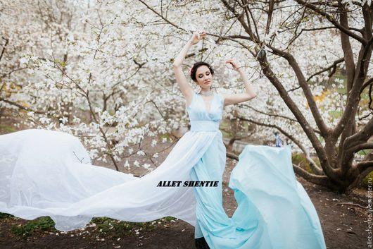 Allet Shentie шифоновое платье индивидуальный пошив