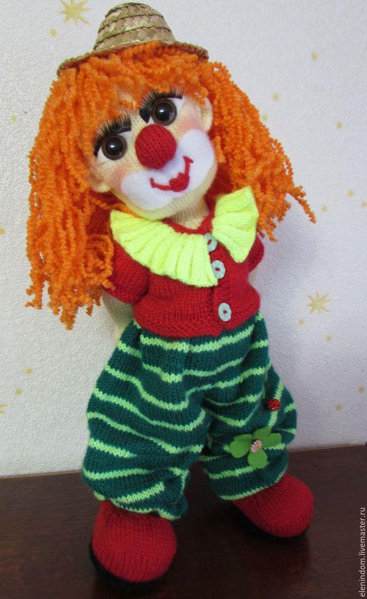 Человечки ручной работы. Ярмарка Мастеров - ручная работа. Купить Клоунесса Ириска. Handmade. Комбинированный, вязаная кукла, кукла вязаная