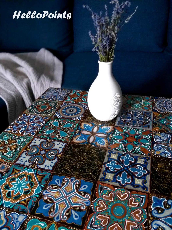 Turquoise table, Tables, Konakovo,  Фото №1