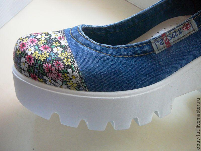 67f590e2c Ярмарка Мастеров - ручная работа. Купить Джинсовые женские туфли 36,37 · ручной  работы. Джинсовые женские туфли 36,37,38,39,40.