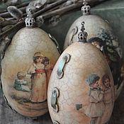 Подарки к праздникам handmade. Livemaster - original item Easter eggs. Handmade.