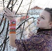 Субкультуры ручной работы. Ярмарка Мастеров - ручная работа Фенечки в народном стиле. Handmade.