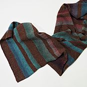 Аксессуары handmade. Livemaster - original item Scarf in striped wool. Handmade.