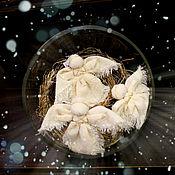 Куклы и игрушки ручной работы. Ярмарка Мастеров - ручная работа Троица. ангелочки.ангелы.оберег в подарок на Пасху. Handmade.