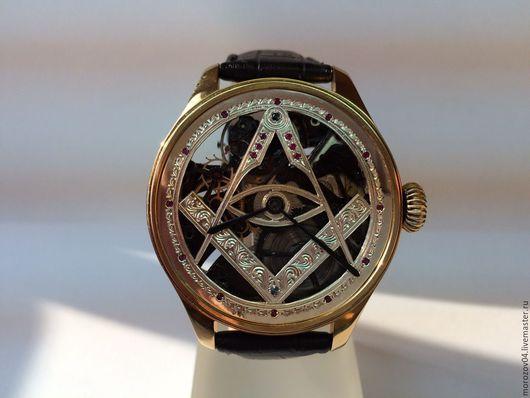 Часы ручной работы. Ярмарка Мастеров - ручная работа. Купить Наручные часы ручной работы, украшены натуральными камнями.. Handmade.