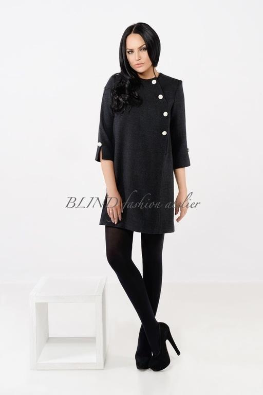 Платья ручной работы. Ярмарка Мастеров - ручная работа. Купить Платье из шерсти 00111. Handmade. Черный, шерстяное платье