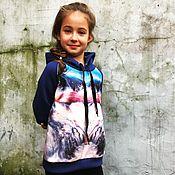 Одежда детская handmade. Livemaster - original item Children`s sweatshirt