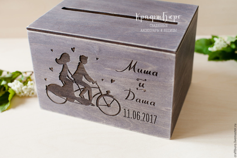 Коробка с деньгами и поздравлением на свадьбы фото 606